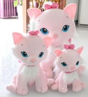 Free shipping 25cm cat plush toy Mary cat doll lovers gift 1pair/lot