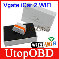 100% Original Vgate WiFi iCar 2 OBDII ELM327 iCar2 wifi vgate OBD diagnostic interface for IOS iPhone iPad Android PC