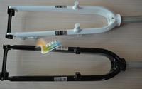 Mosso 2010 7005 aluminum hard fork v disc dual black white