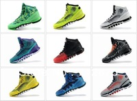 Free Shipping New arrival 9Color! Wholesale Famous Crazy Quick Men's Athletic shoes basketball Shoes