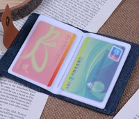 Free shipping 10pcs/lot Fashion Canvas Travel Handbags Documentation Bank ID Card Passport package Clip sets