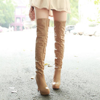 2013 autumn and winter thin heels high-heeled boots boots high-leg thermal winter boots over-the-knee long boots female