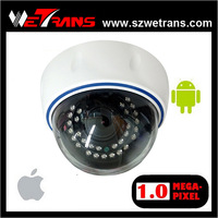 NEW Indoor 2.8-12mm lens IR Dome HD IP Camera 720P