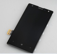 Original Full LCD Display+Touch Screen Digitizer with frame assembly For NOkia Lumia 1020 1020,black color,free shipping