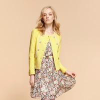 Goelia goelia2013 spring lace patchwork slim short women's slim waist outerwear 31r6e280