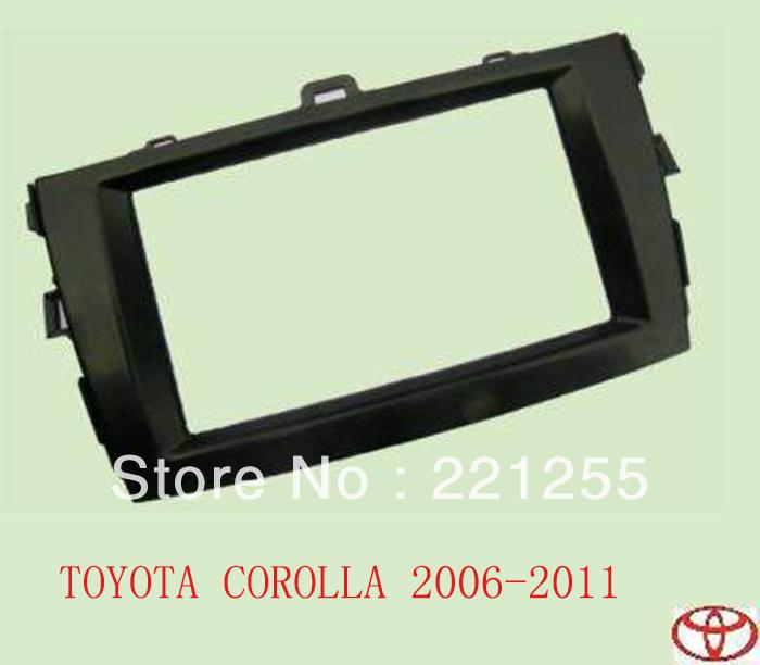 Refitting frame toyota corolla 2006-2011 modified car panel refires analysed dvd box refires mount(China (Mainland))