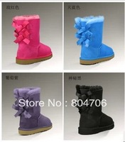 Free shipping Newest Womens Snow Boots reel sheepskin 3280, Winter Boots real sheepskin, Size US5-9