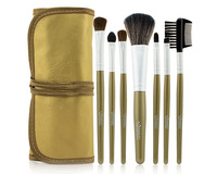 Free shopping Gold Makeup Tools 7pcs Make Brush Classical Practice Makeup Brushes Concealer Brush Professional Makeup Brush Set