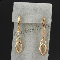 Free shipping!!!Brass Lever Back Earring,Womens Jewelry, 18K gold plated, micro pave cubic zirconia, nickel