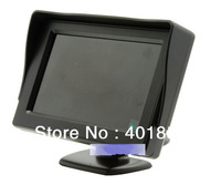 """wholesale 1pc/lot Video 4.3 """" Foldable TFT LCD Color Camera Rearview Mirror Car Monitor DC 12V"""