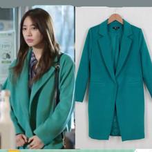 wholesale green coat