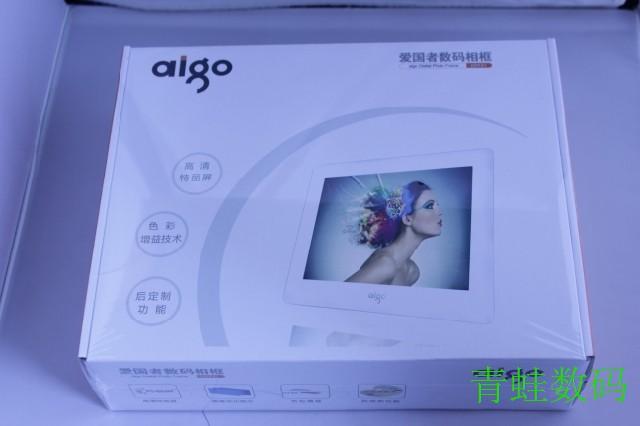 Free shipping Patriot aigo digital photo frame dpf81 audio video electronic photo album dpf805d ram capacity(China (Mainland))