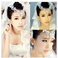 Pearl Princess Crown Headband Hair Clip Wedding Tiara Bride Prom Free shipping