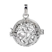 Pregnant  women  Nursing  Jewelry  925  Sterling  Silver  Pendant  Mexican  Bola Harmony  Ball CYLZ0009