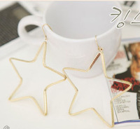 Min order is $10 New Arrival Fashion Simple Star Drop Earrings for Woman Trendy Style Free Shipping Pendant Earrings