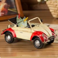 Zakka convertible cars tin toys nostalgic iron skateboard belt 3