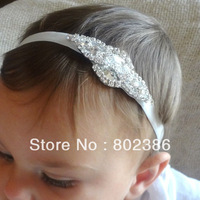 Free Shipping Rhinestone Baby Headband,Kids Hair Accessories,Girl Headband