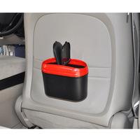 Free Shipping 4L Office Home Auto Vehicle Car Trash Rubbish Bin Can Garbage Dust Case Holder Storage Box - 18x15x9.5CM