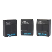 3 PCS free shipping AHDBT-302 GoPro 3.7V 1300mAh Li-Ion Charger battery Pack for camera Gopro Hero3 Hero3+ hero 3 3+