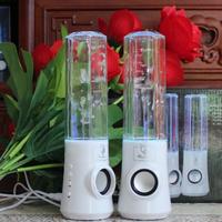 Water three generations of laptop speaker music fountain audio colorful lights luminous mini sprinkler audio