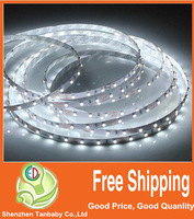 10M x 60led/M DC12V flexibled led strip light SMD3528 red/yellow/green/blue/white indoor decoration light with free shipping