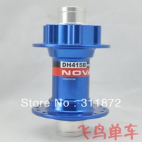 NOVATEC DH41SB DH41 32H 2 Bearing bike bicycle front hub / 20mm DH41 bike hubs 215g  Blue color