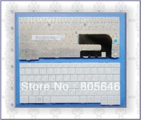 for SAMSUNG  N140 N108 N110 NC10 N130 N128  Original New White  RU  Laptop keyboard.