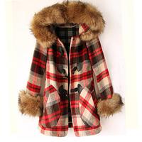 2012 women's slim medium-long woolen outerwear wool coat overcoat female
