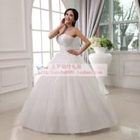 2013 new arrival sweet princess tube top wedding dress swithin wedding bandage