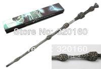 Wholesale magic wand Harry Potter wand 35cm Dumbledore scripture Edition Non-luminous wand Free shipping