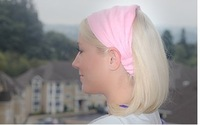 2013 fashion double-deck Cloth fabric Headband Cap, Hair Accessories for Women, Mix colors,original factory supply, HB025
