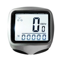 E0177 Bicycle Computer YS468A Code Table Waterproof ABS Plastic Bicycle Odometer Mountain Bike Speedometer Black