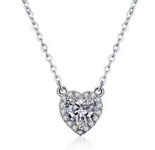 wholesale gold diamond heart pendant