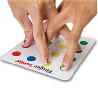 Miniature FINGER Twister - Play Anytime Anywhere !NEW!Family  toys board game for kids