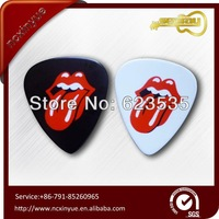 various custom and design logo printed guitar pick parts Free shipping high quality