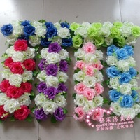 Wedding flowers Bouquets Wedding road lead flowers decoration 10 sets/lot