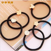 Free shipping 10 brief hair rope metal headband the first ring horseshoers hair accessory set 8683