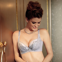 Single-bra super 2012 push up underwear side gathering furu adjustable bra yk1219