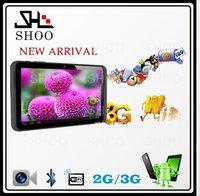 SHOO 7 inch MTK6572 Dual Core Android 4.2 Galaxy GPS Bluetooth Tablet PC 2G GSM Dual Sim Dual Standby Phone Call