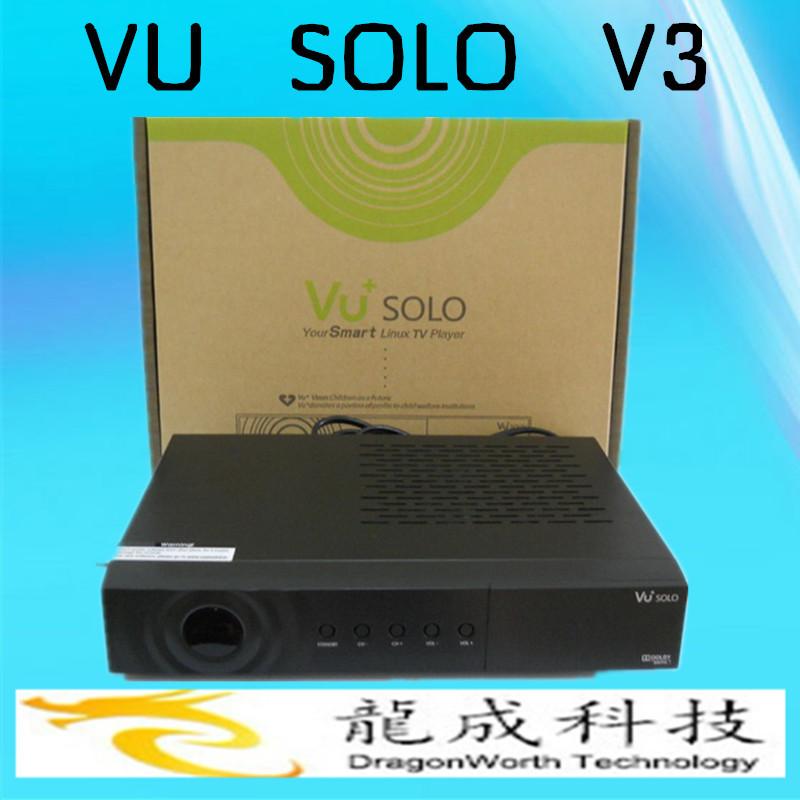 FreeShipping the 2014 Vu Solo V3.2Version VU+Solo PVR Linux Smart Single Tuner DigitalDVB-S2 HD Digital satellite TV Receiver(China (Mainland))