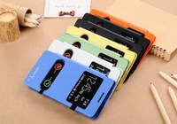 For huawei   g710 mobile phone case protective case y500 a199  leather case g710 window screen flip protective case