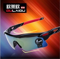 Free shipping Dazzle colour sunglasses, sport parkour, outdoor cycling glasses, sports sunglasses