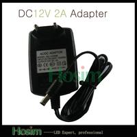 AC 100-240V to DC 12V 2A 24W High Quality Switch Power Adapter EU Plug for SMD 3528/5050 LED Strip Power Supply