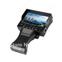 """Free shipping!!4.3""""Audio Video Security CCTV Camera Tester 12V Output RJ45 CableTest Monitor"""