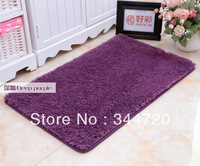 Nano fiber suede mats carpet mats doormat bath mat bathroom mat  9 color 600*1000mm free shipping