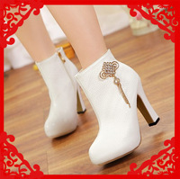 FREE SHIPPING! hot selling women shoes high heels Ankle Boots female winter 2013 fashion women's boots Martin boots