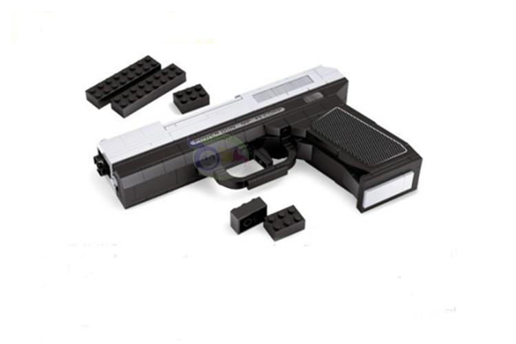 ausini Игрушка пистолет серии 1:1 строительные