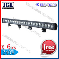 high power 220w cree led light bar,12v led tractor light bar,driving headlight for trucks boat jeep