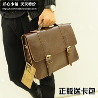 Accidnetal 2013 commercial male shoulder bag casual bag messenger bag man bag briefcase