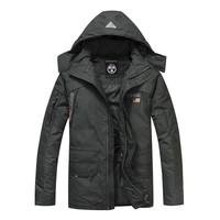New NAPAPIJRI napa outdoor men down jacket detachable bladder long down jacket in the male